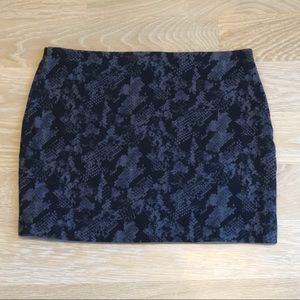 Express Snake Print Bodycon Miniskirt
